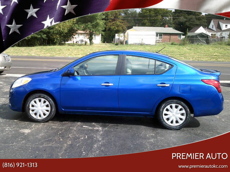 2013 Nissan Versa for sale at Premier Auto in Independence MO