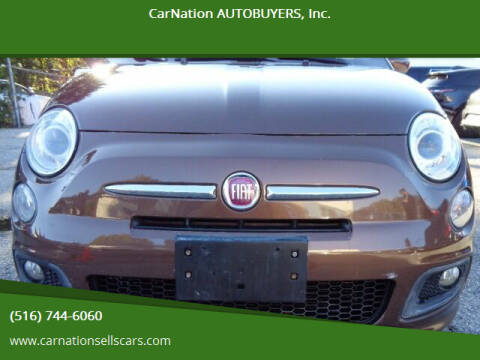 2013 FIAT 500 for sale at CarNation AUTOBUYERS, Inc. in Rockville Centre NY