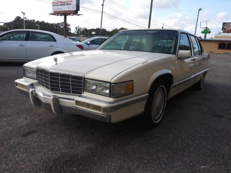 1991 Cadillac Fleetwood for sale at Best Buy Autos in Mobile AL