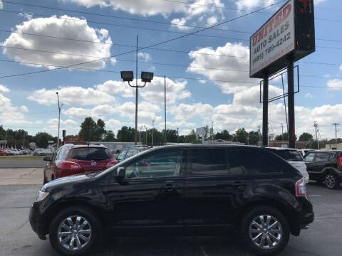 2007 Ford Edge for sale at United Auto Sales in Oklahoma City OK