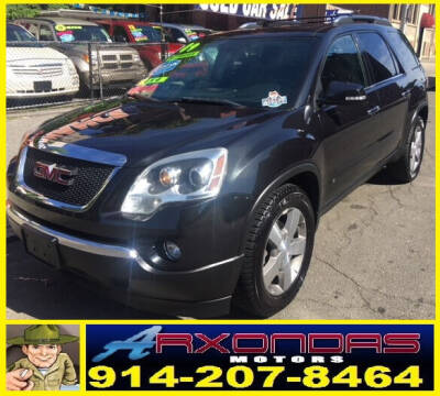 2009 GMC Acadia for sale at ARXONDAS MOTORS in Yonkers NY