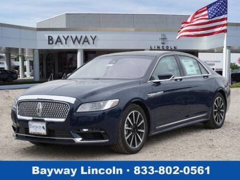 2020 Lincoln Continental for sale at BAYWAY Certified Pre-Owned in Houston TX