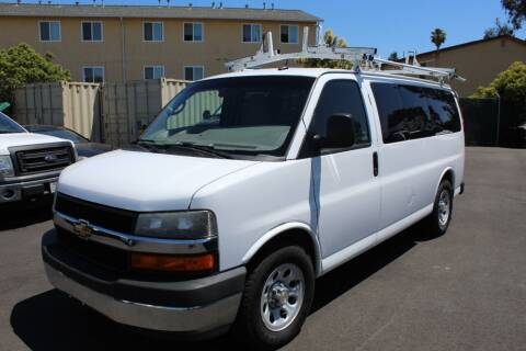 2013 Chevrolet Express Passenger for sale at CA Lease Returns in Livermore CA
