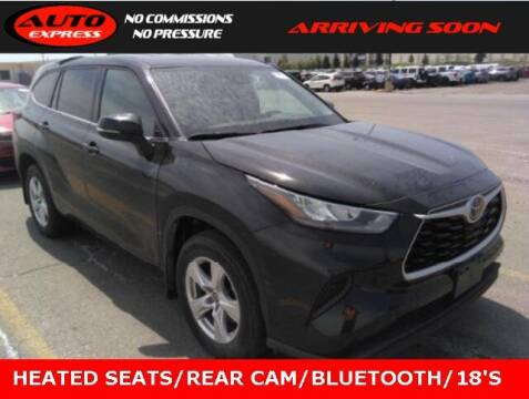 2020 Toyota Highlander for sale at Auto Express in Lafayette IN