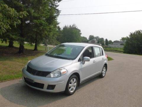2008 Nissan Versa for sale at HUDSON AUTO MART LLC in Hudson WI