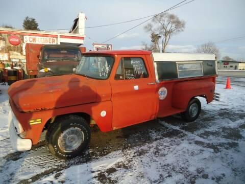 1966 Chevrolet C/K 10 Series for sale at Marshall Motors Classics in Jackson Michigan MI