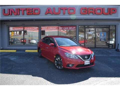 2019 Nissan Sentra for sale at United Auto Group in Putnam CT
