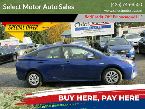2016 Toyota Prius for sale at Select Motor Auto Sales in Lynnwood WA
