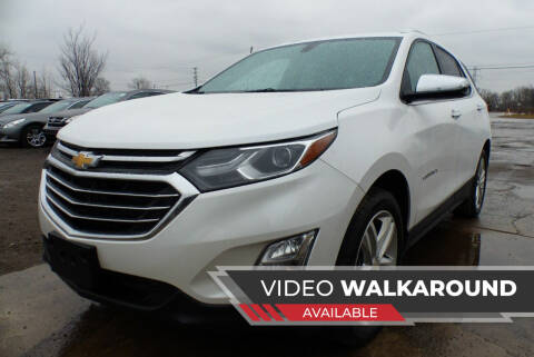 2019 Chevrolet Equinox for sale at Macomb Automotive Group in New Haven MI