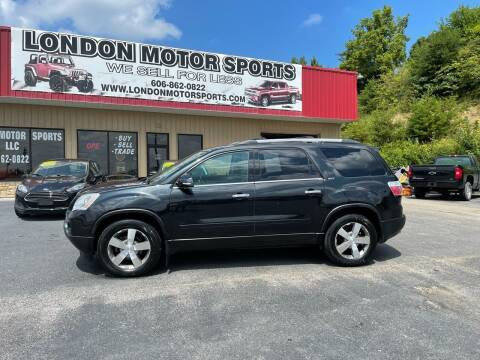 2012 GMC Acadia for sale at London Motor Sports, LLC in London KY