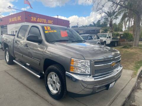 2012 Chevrolet Silverado 1500 for sale at 3K Auto in Escondido CA