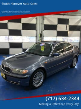 2002 BMW 3 Series for sale at South Hanover Auto Sales in Hanover PA