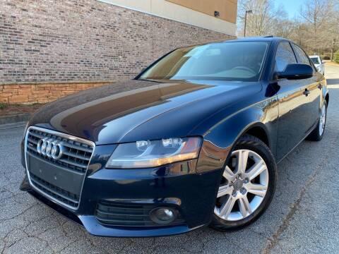 2010 Audi A4 for sale at Gwinnett Luxury Motors in Buford GA