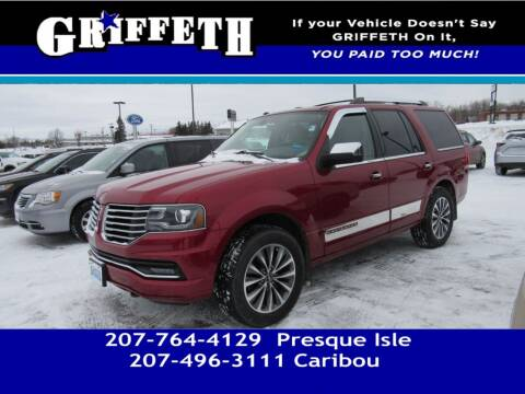 2016 Lincoln Navigator for sale at Griffeth Mitsubishi - Pre-owned in Caribou ME