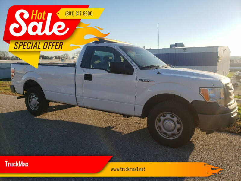 2012 Ford F-150 for sale at TruckMax in Laurel MD