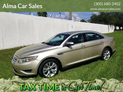 2011 Ford Taurus for sale at Alma Car Sales in Miami FL