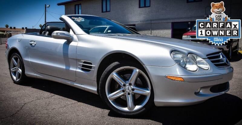 2004 Mercedes-Benz SL-Class for sale at Rahimi Automotive Group in Yuma AZ