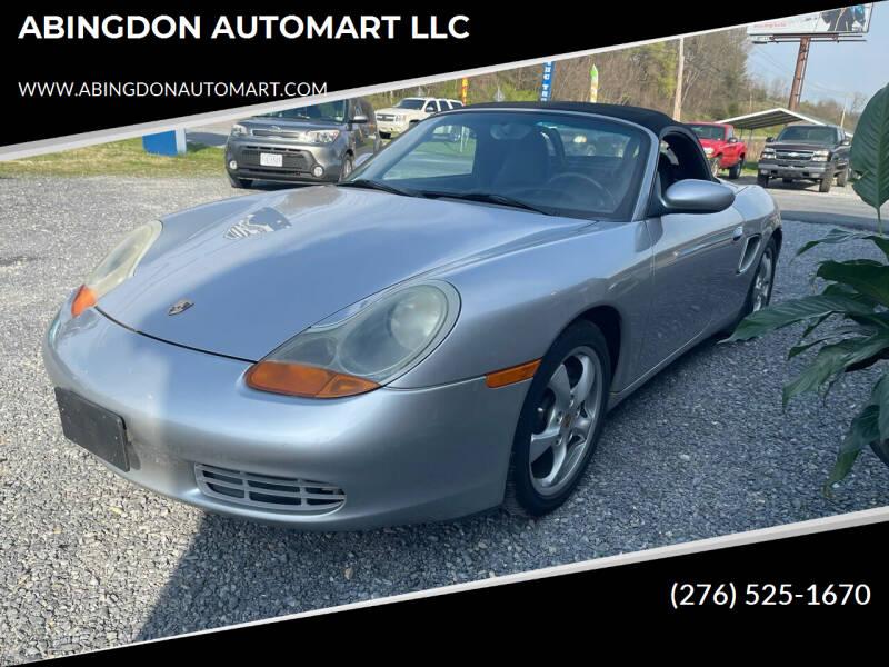 2001 Porsche Boxster for sale at ABINGDON AUTOMART LLC in Abingdon VA