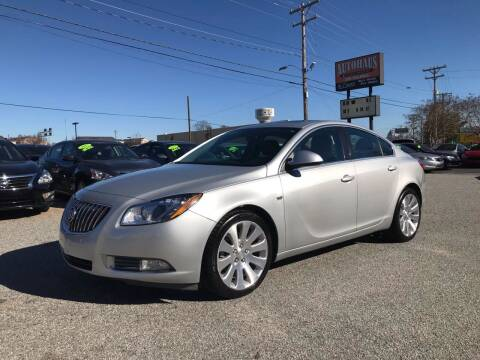 2011 Buick Regal for sale at Autohaus of Greensboro in Greensboro NC