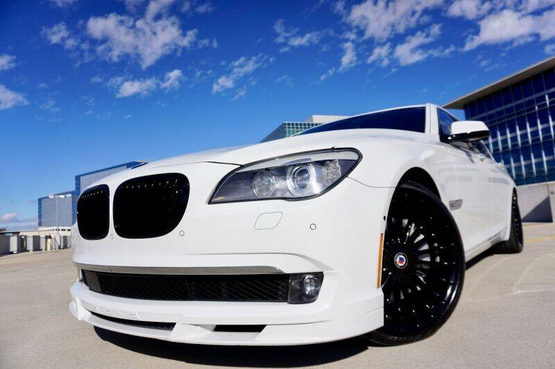 2012 BMW 7 Series for sale at JD MOTORS in Austin TX