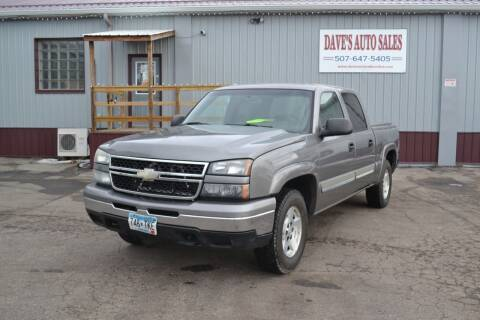 2006 Chevrolet Silverado 1500 for sale at Dave's Auto Sales in Winthrop MN