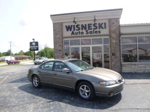 2002 Pontiac Grand Prix for sale at Wisneski Auto Sales, Inc. in Green Bay WI