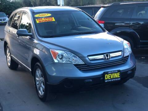 2007 Honda CR-V for sale at Devine Auto Sales in Modesto CA