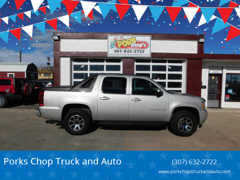 2007 Chevrolet Avalanche for sale at Pork Chops Truck and Auto in Cheyenne WY