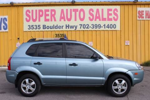 2008 Hyundai Tucson for sale at Super Auto Sales in Las Vegas NV