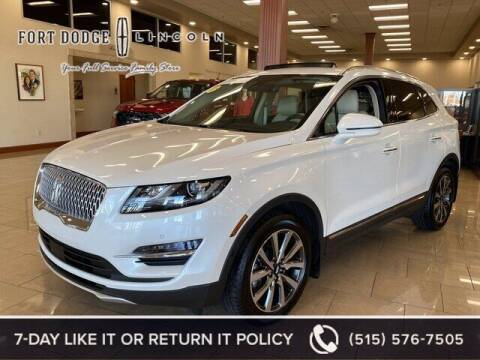 2019 Lincoln MKC for sale at Fort Dodge Ford Lincoln Toyota in Fort Dodge IA