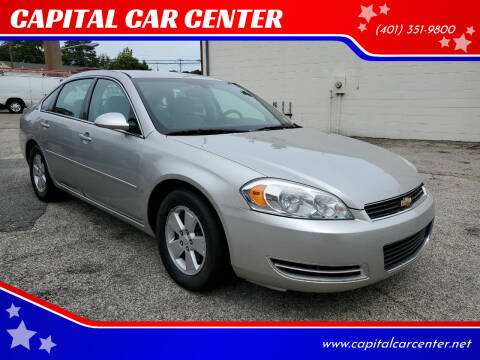 2007 Chevrolet Impala for sale at CAPITAL CAR CENTER in Providence RI