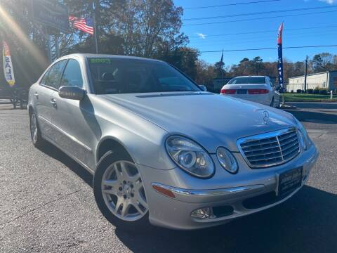 2003 Mercedes-Benz E-Class for sale at Jimmy Jims Auto Sales in Tabernacle NJ