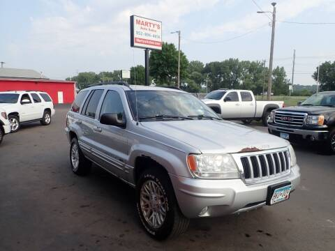 2004 Jeep Grand Cherokee for sale at Marty's Auto Sales in Savage MN