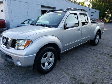 2007 Nissan Frontier for sale at Devaney Auto Sales & Service in East Providence RI