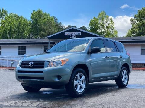 2008 Toyota RAV4 for sale at CVC AUTO SALES in Durham NC