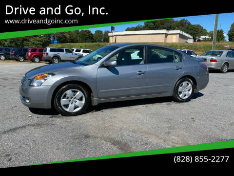 2007 Nissan Altima for sale at Drive and Go, Inc. in Hickory NC