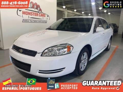 2011 Chevrolet Impala for sale at Monster Cars in Pompano Beach FL