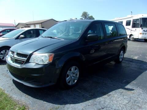 2013 Dodge Grand Caravan for sale at DAVE KNAPP USED CARS in Lapeer MI