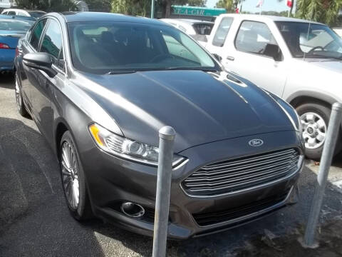 2016 Ford Fusion for sale at PJ's Auto World Inc in Clearwater FL