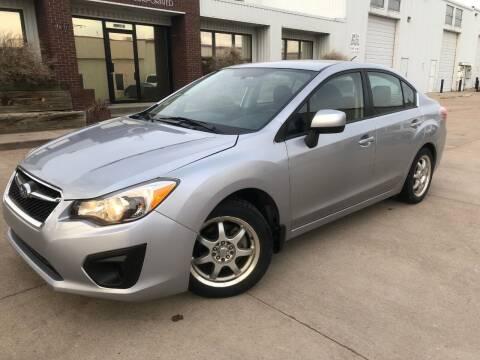 2012 Subaru Impreza for sale at Zapp Motors in Englewood CO
