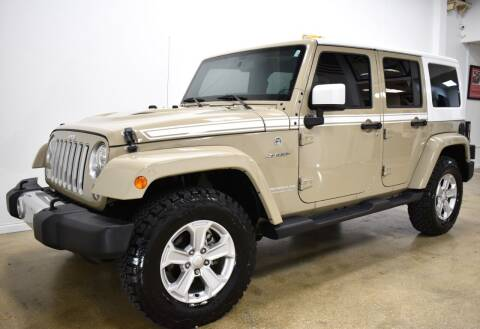 2017 Jeep Wrangler Unlimited for sale at Thoroughbred Motors in Wellington FL