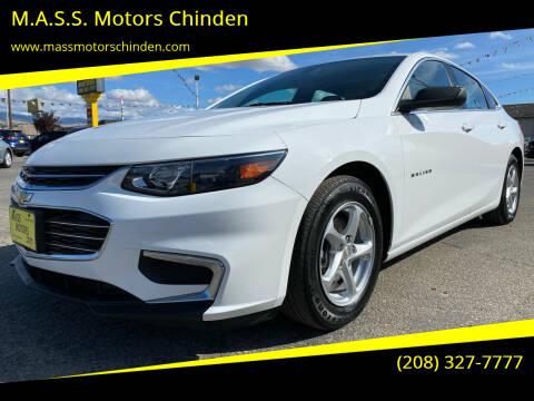 2017 Chevrolet Malibu for sale at M.A.S.S. Motors - West Fairview in Boise ID