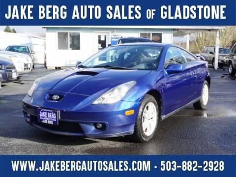 2002 Toyota Celica for sale at Jake Berg Auto Sales in Gladstone OR