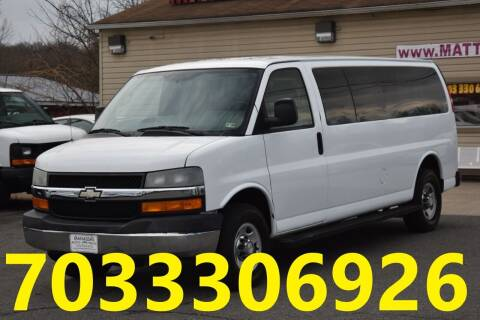 2007 Chevrolet Express Passenger for sale at MANASSAS AUTO TRUCK in Manassas VA