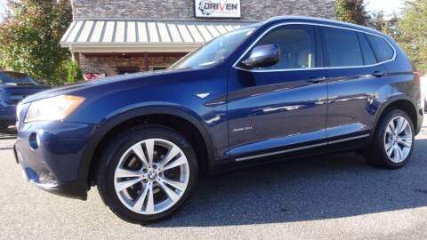 2011 BMW X3 for sale at Driven Pre-Owned in Lenoir NC