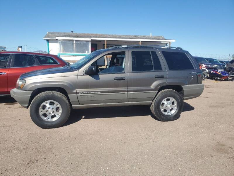 1999 Jeep Grand Cherokee for sale at PYRAMID MOTORS - Fountain Lot in Fountain CO