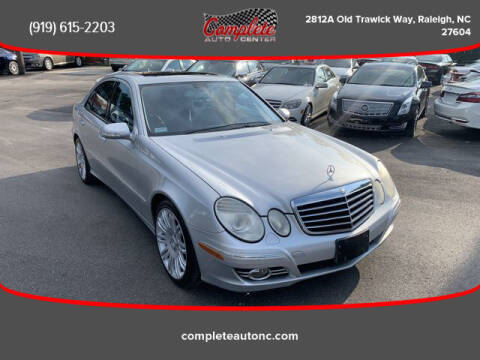 2007 Mercedes-Benz E-Class for sale at Complete Auto Center , Inc in Raleigh NC