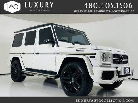 2003 Mercedes-Benz G-Class for sale at Luxury Auto Collection in Scottsdale AZ