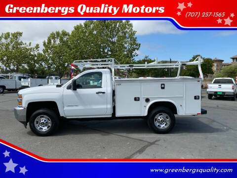 2017 Chevrolet Silverado 2500HD for sale at Greenbergs Quality Motors in Napa CA