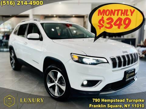 2019 Jeep Cherokee for sale at LUXURY MOTOR CLUB in Franklin Square NY